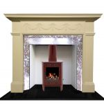 King Louis Fireplace Edwardian Victorian Antique Restoration