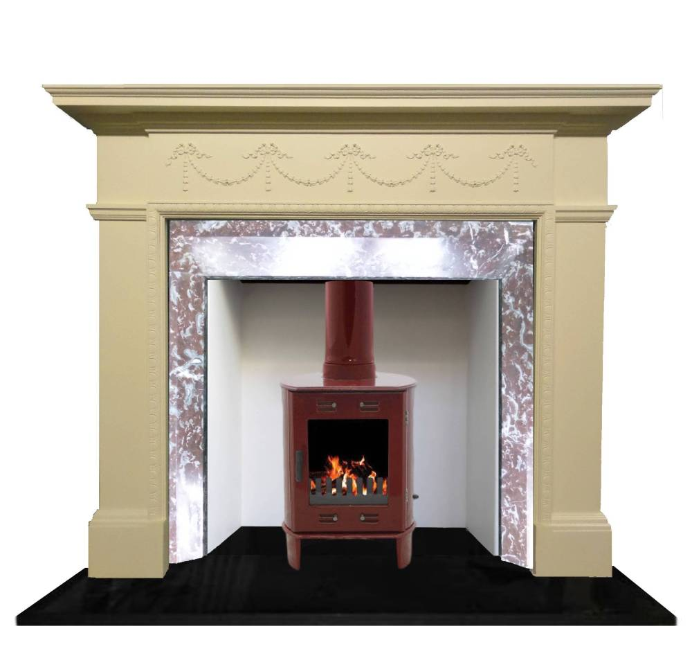 Marble Fireplace Restoration Victorian Edwardian Reproduction Fireplace UK - Britains Heritage -