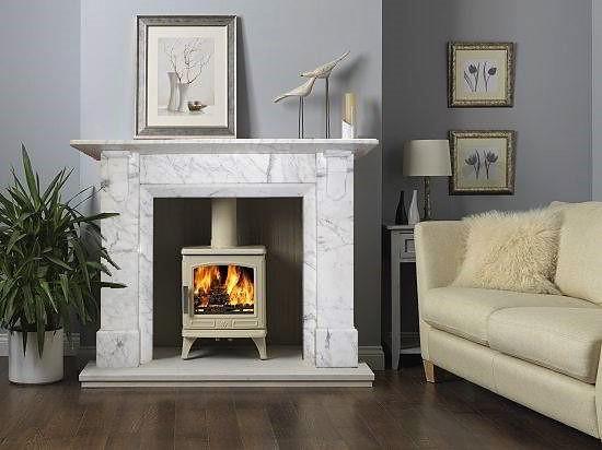 Log Burner Victorian Fireplace