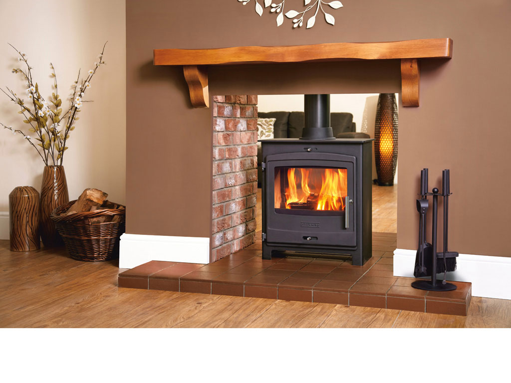 Double Sided Woodburning Stoves Fireplaces Sales Delivery Installation Restoration Antique Cast Iron Milti Fuel-