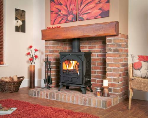 Woodburning Stoves Fireplaces Sales Delivery Installation Restoration Antique Cast Iron Milti Fuel-1