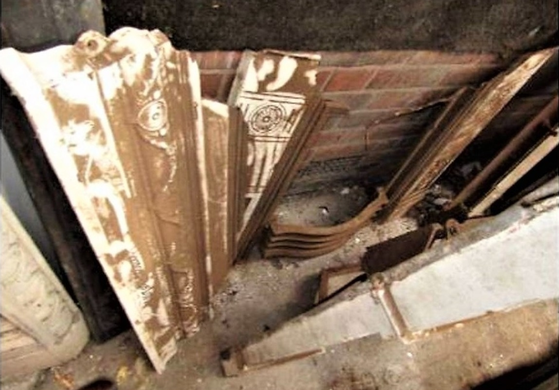 Antique Victorian Fireplace Restoration Bedroom UK Cast Iron Project Leicester - 2