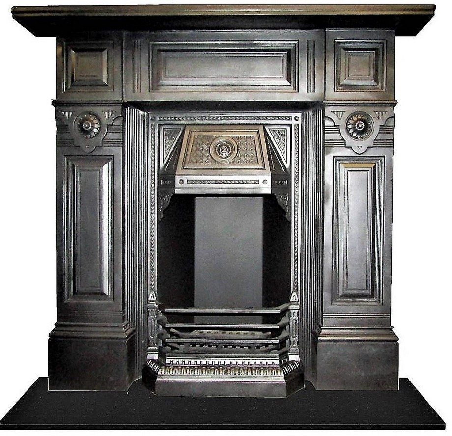 Antique Victorian Fireplace Restoration Bedroom UK Cast Iron Project Leicester - 4